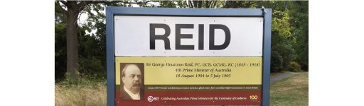 Reid: Suburb of Canberra