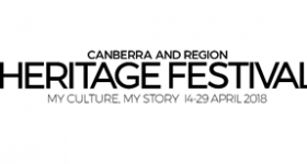 Heritage Festival ACT 14–29 April 2018