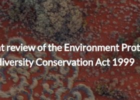 Environment Protection and Biodiversity Conservation Act 1999 Review: