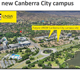 Reid residents and RRA Committee members meeting with UNSW re the Canberra City Campus.