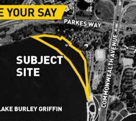 Lake Burley Griffin, West Basin, Block 23 Section 33 Acton Waterfront: Works Application consultation on boardwalk and infill