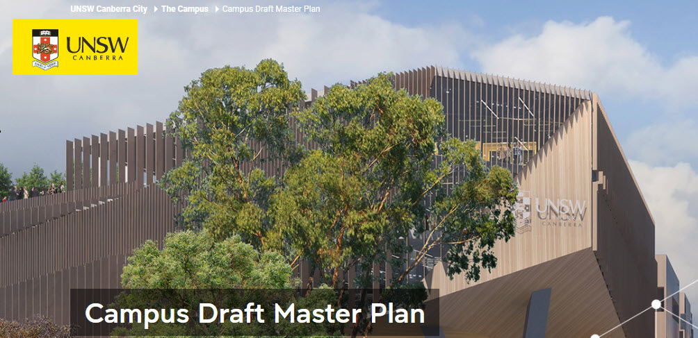 Update – UNSW Canberra City Campus Consultation –– Reid
